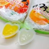 蒟蒻畑のララクラッシュ メロン味・オレンジ味の画像(3枚目)