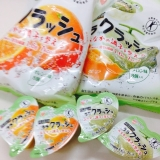 蒟蒻畑のララクラッシュ メロン味・オレンジ味の画像(2枚目)