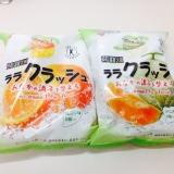 蒟蒻畑のララクラッシュ メロン味・オレンジ味の画像(1枚目)