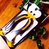 口コミ記事「ペンギンヘアクリップ」の画像