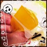 【マンナンライフ】蒟蒻畑 ララクラッシュ メロン・オレンジ 食べてみましたの画像(4枚目)
