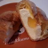 モンテール:瀬戸内レモンのシュークリームを食べてみました。の画像(2枚目)
