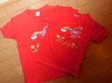 「オリジナルTシャツでご機嫌な娘達」の画像(1枚目)