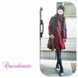 おフェロな赤のニットワンピでデートコーデ♡の画像(3枚目)