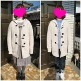 ランズエンド レディス ☆ダッフル風のセーターコートの画像(4枚目)
