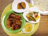 今日のお弁当おかず♪(鶏むね肉のスパイシー甘酢)の画像(1枚目)