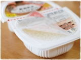 パックごはんが20周年 ♡ 5種類の銘柄米シリーズの食べ比べ!の画像(3枚目)