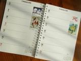 来年の手帳ありますか?<口と足で>描いたアートダイアリーが素敵♪の画像(5枚目)