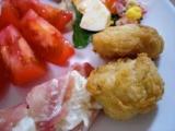 『国産若鶏の塩から揚げ』 と 『グラノーラブレッド』の画像(3枚目)