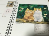 【モニター報告】口と足で書いた絵★の画像(2枚目)