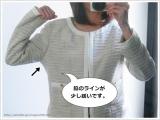 通勤・学校行事に使える万能アイテム!【RUSH HOUR PREMIUM】ノーカラージャケットの画像(10枚目)
