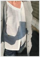通勤・学校行事に使える万能アイテム!【RUSH HOUR PREMIUM】ノーカラージャケットの画像(12枚目)