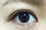 黒目が大きく見える✨Wプルーフのリキッドアイライナーの画像(4枚目)