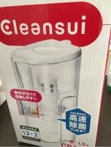 クリンスイの新ポット型浄水器CP405を試しました☆の画像(1枚目)