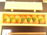 「大島椿油100%「椿の金ぷら油」で揚げた天ぷらと伊豆大島伝統料理「鼈甲鮨」」の画像(1枚目)