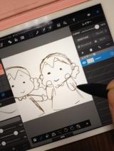 【モニター】すっごく細いタッチペンをipad miniで使ってみました。の画像(3枚目)