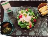 鎌田醤油のサラダ醤油でサラダうどん♪の画像(2枚目)