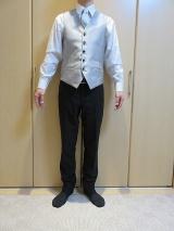hiromichi nakano フォーマル トレンドスリムスーツ(・∀・)イオンモール今治新都市 20%OFFで購入の画像(3枚目)
