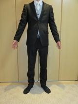 hiromichi nakano フォーマル トレンドスリムスーツ(・∀・)イオンモール今治新都市 20%OFFで購入の画像(1枚目)