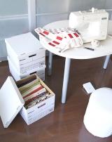 【お得情報】収納の悩みをスッキリ解決してくれる画期的な方法!『紙製箱バンカーズボックス』の画像(1枚目)
