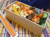 女子大生の砂肝の唐揚げ弁当♪イエロースタジオのお弁当箱に(娘)の画像(6枚目)