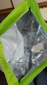 大容量保冷バッグでお買い物の画像(3枚目)