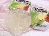 食感が楽しい☆大粒アロエinクラッシュタイプの蒟蒻畑パイナップル味の画像(3枚目)