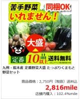 西日本(九州・熊本)産お野菜セットをお得にお取り寄せできます!!の画像(2枚目)