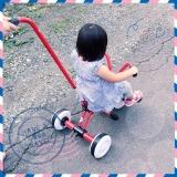 ついに三輪車デビュー・ラビットトライクの画像(10枚目)