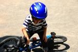 D-Bike Master 16インチ☆4歳 自転車に挑む夏休み!まずはキックバイクで練習だ!の画像(7枚目)
