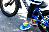 D-Bike Master 16インチ☆4歳 自転車に挑む夏休み!まずはキックバイクで練習だ!の画像(6枚目)