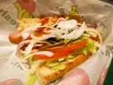 野菜のサブウェイ『粗挽きソーセージ』食べました!の画像(1枚目)
