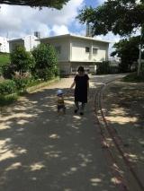 子供と一緒のお出かけに(^.^)シャルレのマイルドUVミルクの画像(5枚目)
