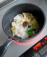 お水がいらない鍋焼きうどんは、とっても便利〜♪♪の画像(5枚目)