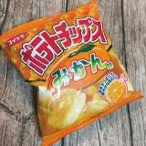 コイケヤ ポテトチップスみかん味 の画像(6枚目)