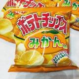 コイケヤ ポテトチップスみかん味 の画像(4枚目)