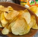 コイケヤ ポテトチップスみかん味 の画像(8枚目)