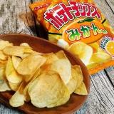 コイケヤ ポテトチップスみかん味 の画像(9枚目)