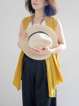 2wayジレと帽子で、ファッションコーデ♡の画像(2枚目)