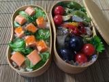 オホーツクサーモン風味(サモかま)deちらし寿し弁当♪の画像(7枚目)
