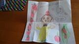 「キャタピーゴルフ&風ナビEagleセットをお誕生日プレゼントに♪|カナダと日本のハーフキッズモデルのニコニコブログ♪」の画像(2枚目)