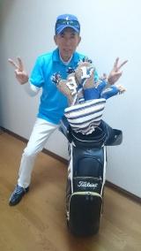 「キャタピーゴルフ&風ナビEagleセットをお誕生日プレゼントに♪|カナダと日本のハーフキッズモデルのニコニコブログ♪」の画像(5枚目)