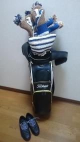 「キャタピーゴルフ&風ナビEagleセットをお誕生日プレゼントに♪|カナダと日本のハーフキッズモデルのニコニコブログ♪」の画像(4枚目)