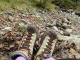 「   結ばない靴紐「キャタピラン」を装着して挑んだ八ヶ岳登山 」の画像(1枚目)