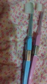 キスユー マイナスイオン歯ブラシの画像(1枚目)
