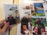 我が家のアルバム*1枚ずつ増やせる高画質フォトシート♡gyuttoアルバムつくってみました*の画像(6枚目)