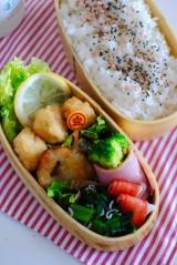 *{モニター}ご飯がすすむ冷食でお弁当* の画像(1枚目)