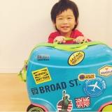 口コミ記事「乗れる!キッズ用キャリーバッグ『リトローリー』使用レポ♡」の画像