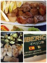 イベリコ豚ステーキ(トンテキ)弁当♪(旦那)の画像(2枚目)