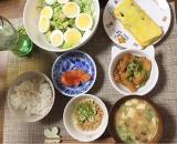 朝ごはんな夕飯の画像(1枚目)